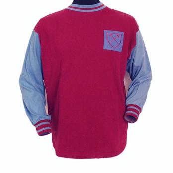 La casacca indossata dal West Ham United dal 1960 al 1970