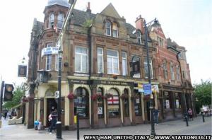 Il Denmark Arms Pub di East Ham, in zona Upton Park