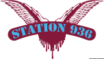 Logo Cock Sparrer versione Station 936 claret and blue