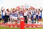 Foto dei festeggiamenti della promozione in Premier League del Queens Park Rangers
