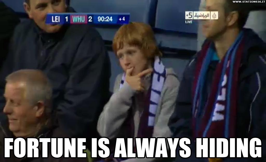 Tifare West Ham United significa ansia fino all'ultimo secondo