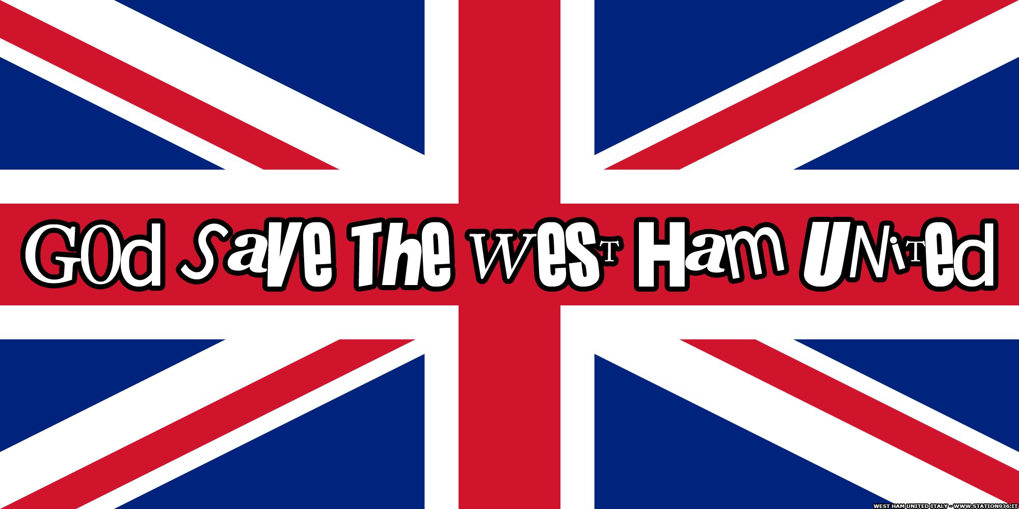 God save the West Ham United