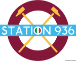 Logo Station 936 West Ham United Italia versione tricolore