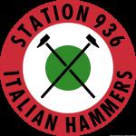 Station 936 Italian Hammers logo coccarda italiana