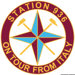 Logo Station 936 on tour from Italy stile Stone Island