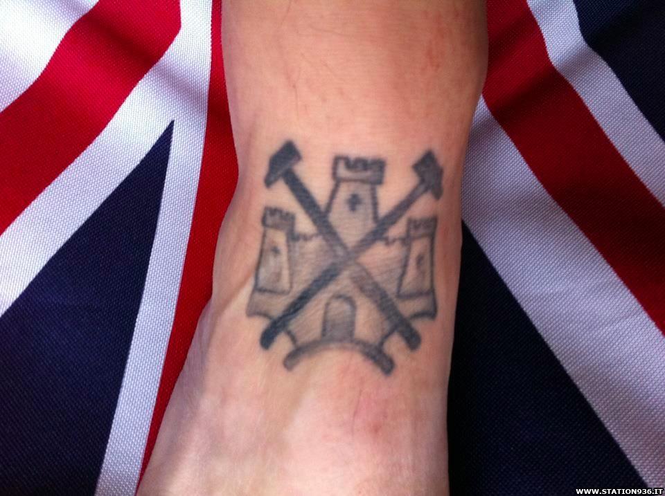 Tatuaggio West Ham United Tattoo 11