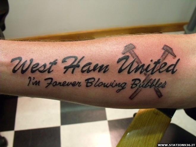 Tatuaggio West Ham United Tattoo 22