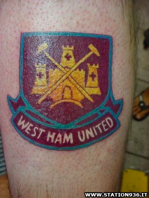 Tatuaggio West Ham United Tattoo 27