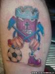 Tatuaggio West Ham United Tattoo 28