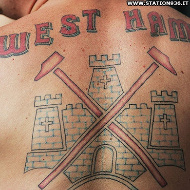 Tatuaggio West Ham United Tattoo 3