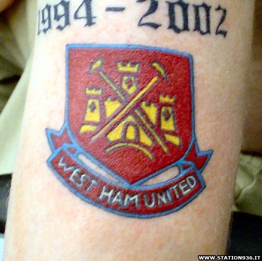 Tatuaggio West Ham United Tattoo 32