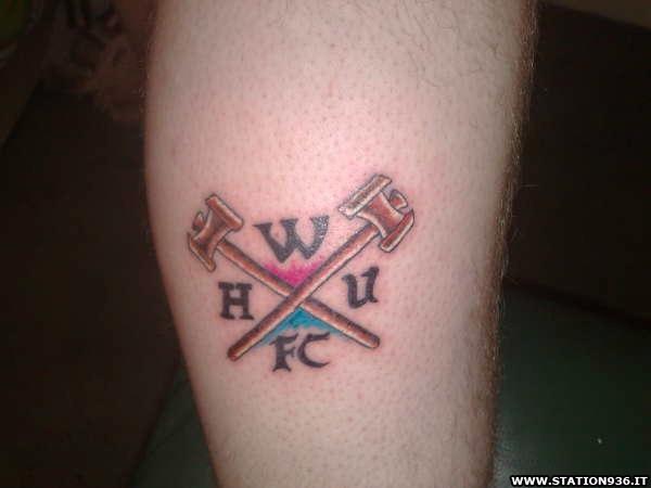 Tatuaggio West Ham United Tattoo 34