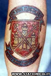 Tatuaggio West Ham United Tattoo 36