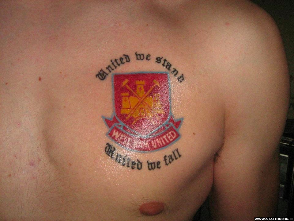 Tatuaggio West Ham United Tattoo 37