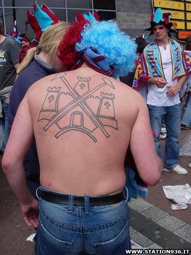 Tatuaggio West Ham United Tattoo 4
