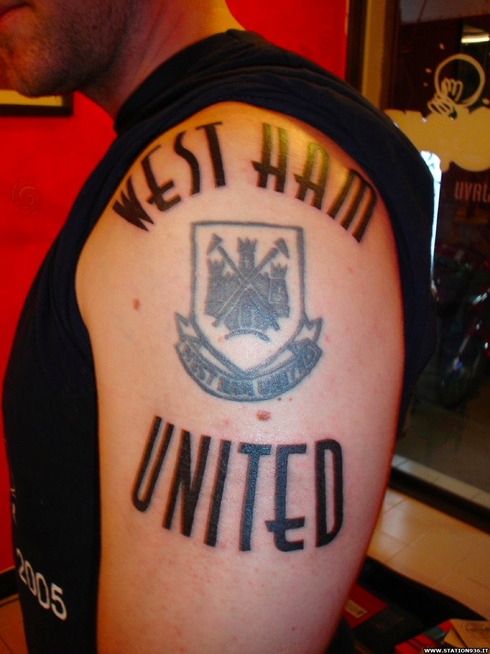 Tatuaggio West Ham United Tattoo 7