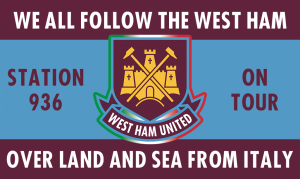 Trasferte tifosi italiani West Ham United OLAS from Italy