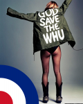West Ham United Mod girl