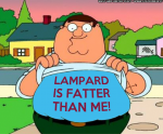 Peter Griffin: Lampard is fatter than me! West Ham United Hammers