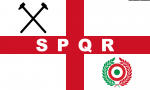 Bandiera West Ham United SPQR from Italy