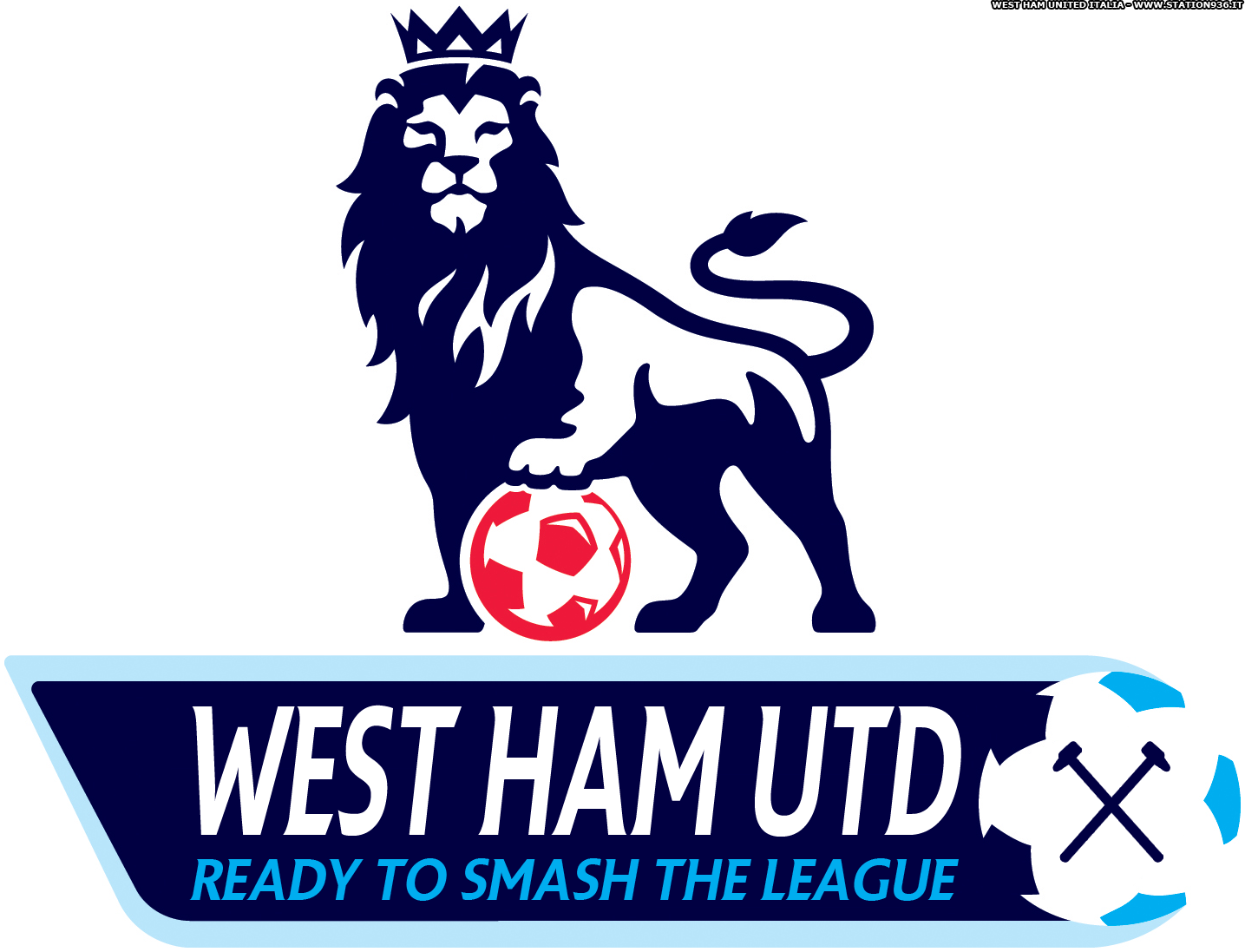 Logo della Premier League modificato per celebrare il ritorno del West Ham United