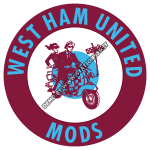 West Ham United Mods scooter t-shirt