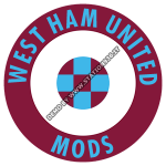 West Ham United Mods ska t-shirt