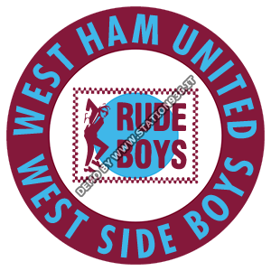 West Ham United Rude Boys t-shirt