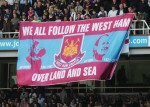 Bandiera OLAS: we all follow the West Ham over land and sea