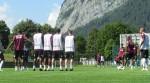 Foto scattata durante il ritiro estivo 2011 in Svizzera del West Ham United