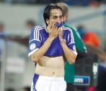 Yossi Benayoun con la maglia della nazionale Israeliana