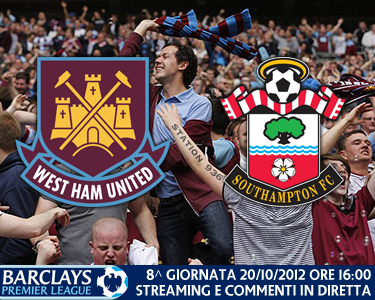 Match thread di West Ham United vs. Southampton 20/10/2012