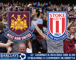 Match thread West Ham United vs. Stoke City 19/11/2012