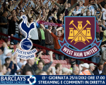 Match thread Tottenham vs. West Ham United 25/11/2012
