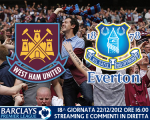Match thread di West Ham vs. Everton 22/12/2012