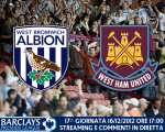 Match thread di West Bromwich Albion vs. West Ham United 16/12/2012
