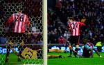 Uno dei tre goal presi dal West Ham contro il Sunderland