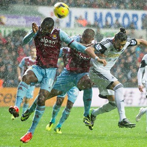 Swansea City v west Ham United
