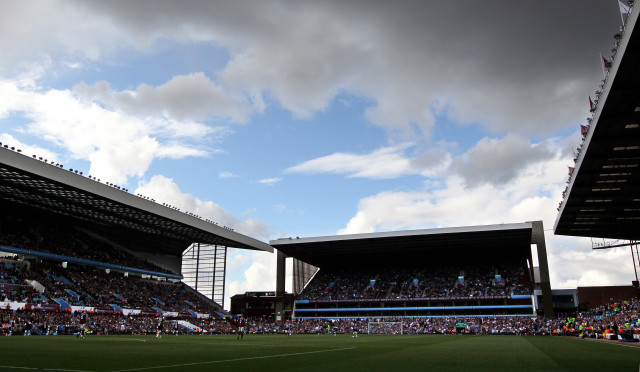 A general view of Villa Park stadium, ho