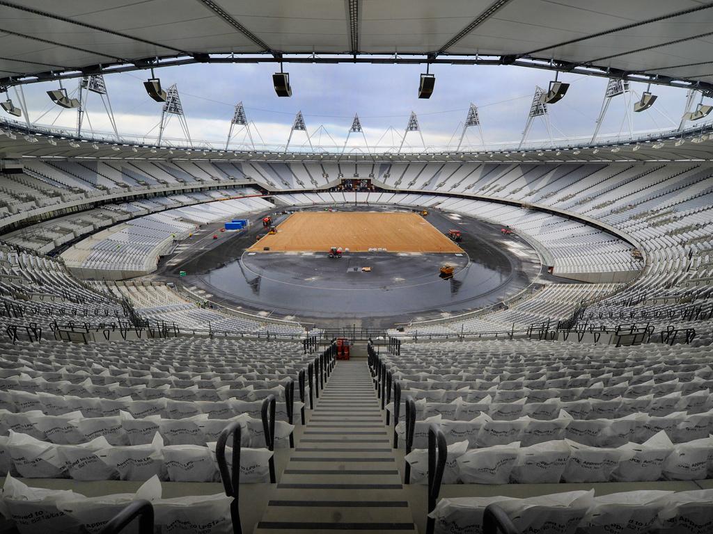 Lo stadio olimpico londinese