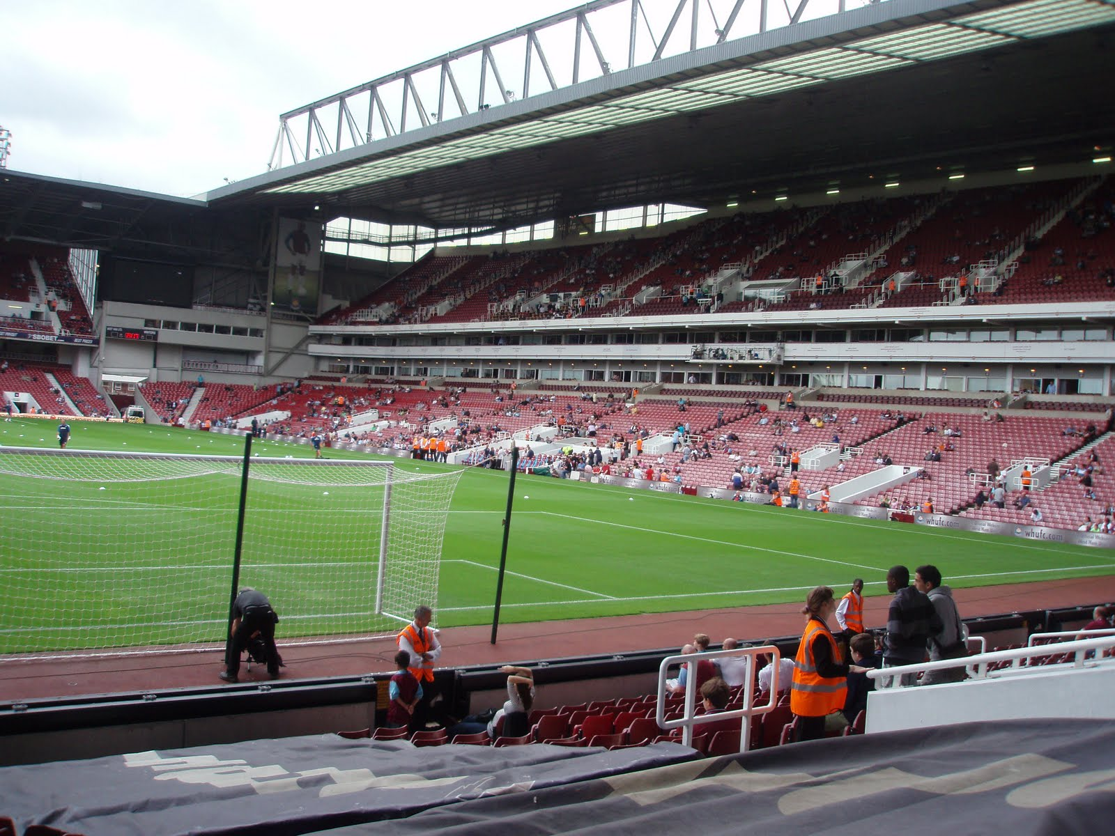 West Stand di Upton Park