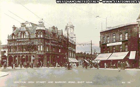 Foto storica del Denmark Arms Pub