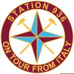 Logo Station 936 on tour from Italy stile Stone Island