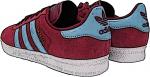 Scarpa Adidas Gazelle claret & blue