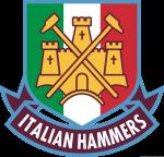 Logo West Ham United versione Italian Hammers