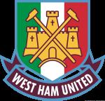 Logo West Ham United con tricolore italiano