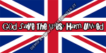 God save the West Ham United shirt