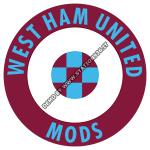 West Ham United Mods ska t-shirt