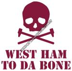 West Ham to da bone con martelli incrociati